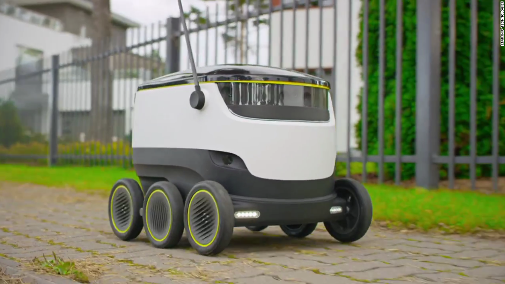 Droid Delivery Robot
